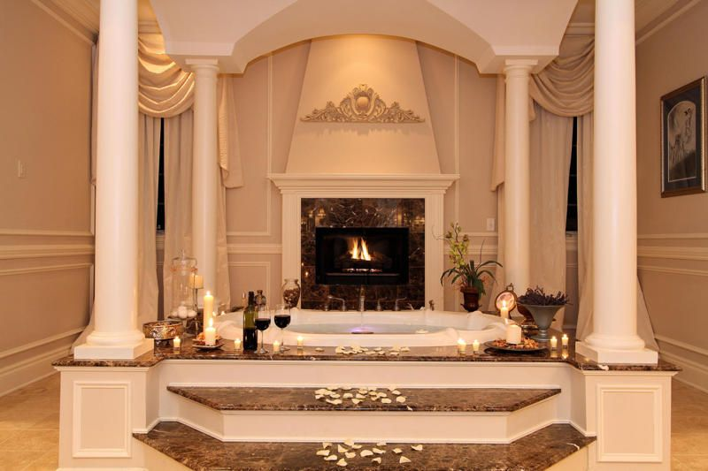 Luxury Bathrooms With Fireplace   Bing Images Part 54
