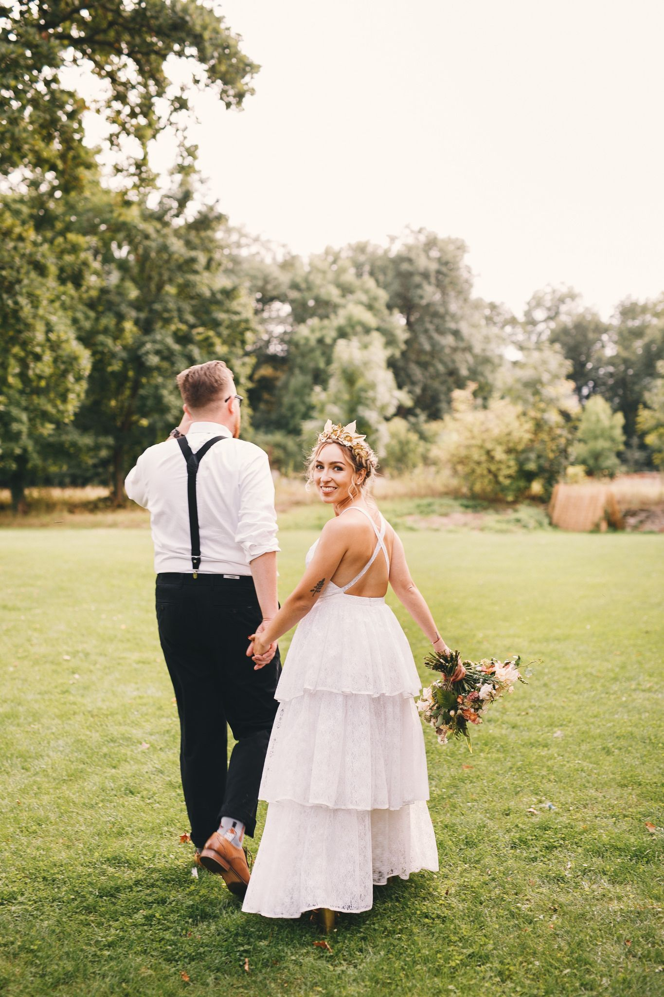 Styleofbecca wedding boho wedding diy wedding groom ruffled