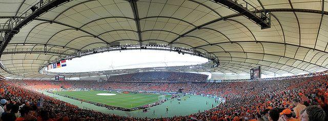 The Gottlieb Daimler Stadion In Stuttgart Quite Orange Gottlieb