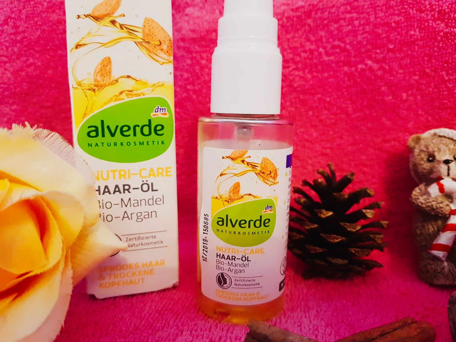 Alverde Haar-Öl mit Mandel und Argan