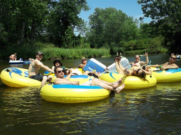 9 Lazy Rivers In Michigan That Are Perfect For Tubing On A