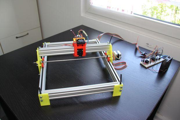 3d printed laser engraver. Black Bedroom Furniture Sets. Home Design Ideas