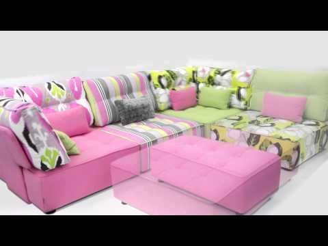 Seriously Sofas - Corner & modular units - Tapas - flexible modules ...