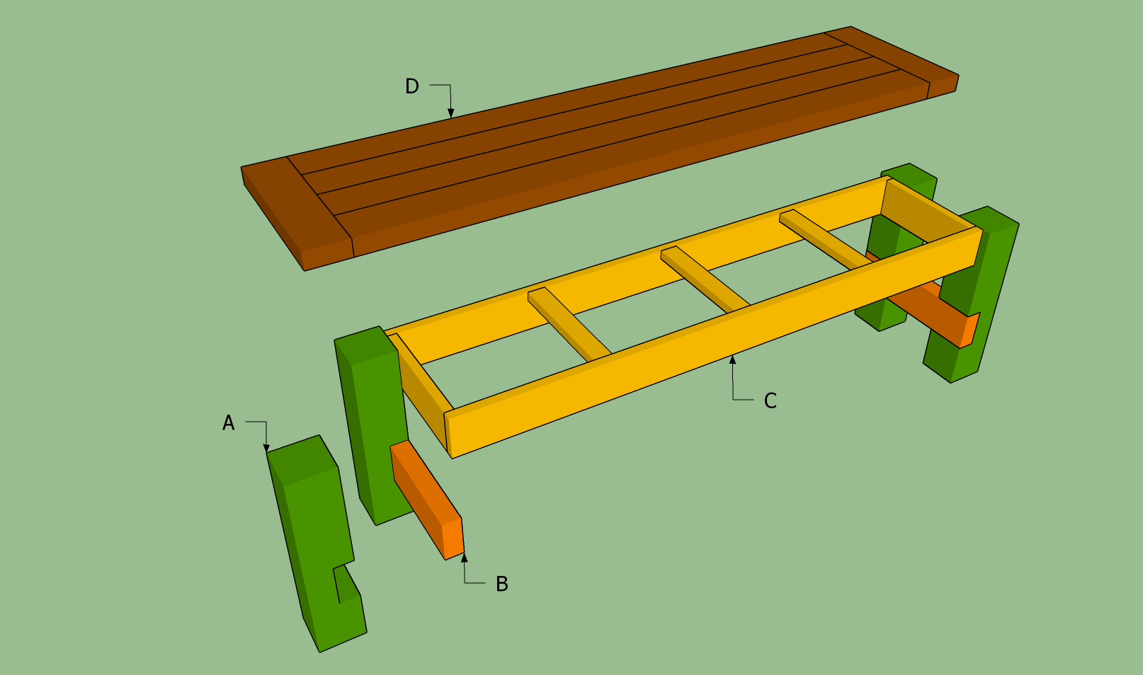 How To Build A Bench Seat Howtospecialist How To Build Step By Step Diy Plans Diy Bench Seat Diy Wood Bench Wooden Bench Seat