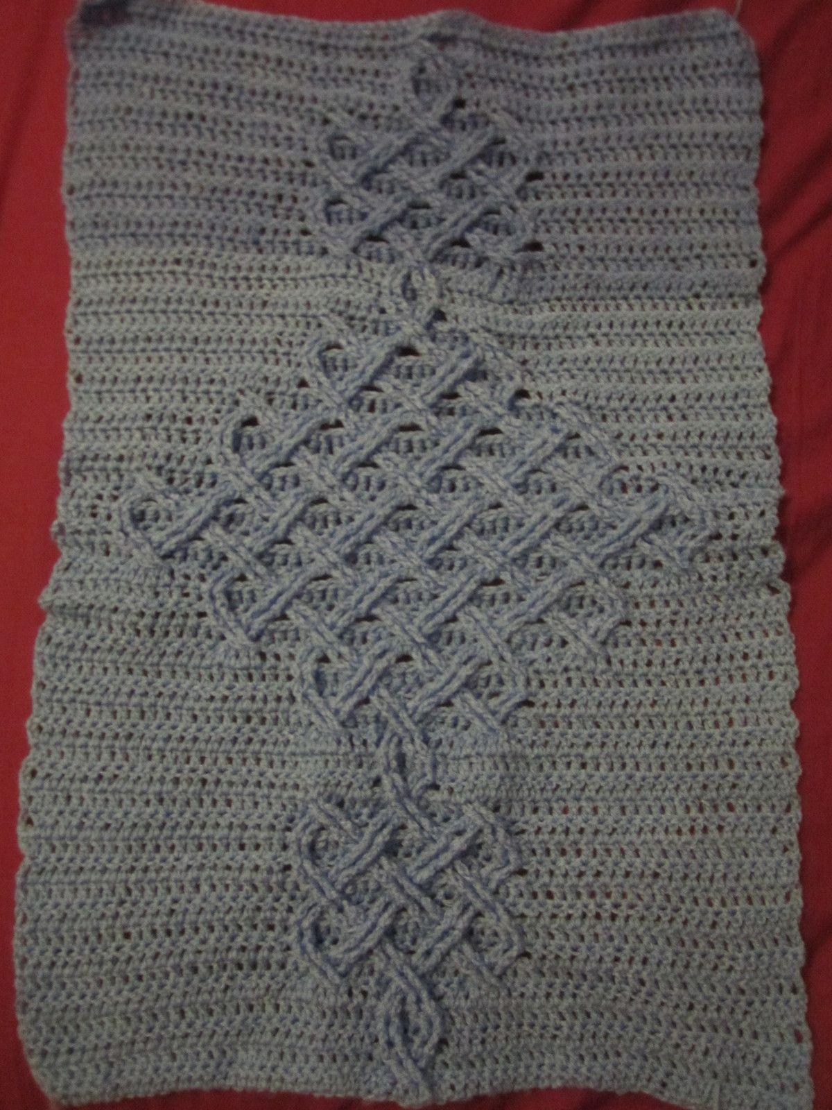 Celtic Knot Crochet Cable | Pinterest | Ganchillo crochet, Celta y ...