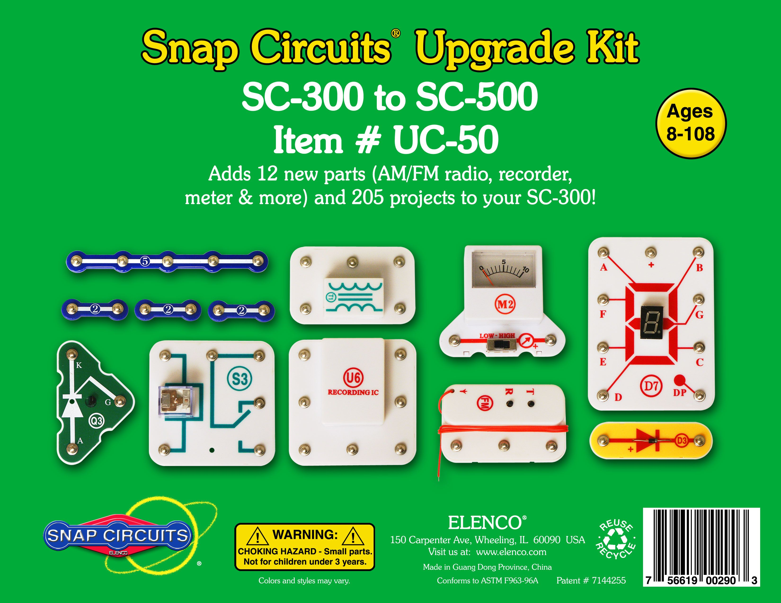Snap Circuit Upgrade Kit Sc300 To Sc500 Gift Ideas Pinterest Amazoncom Circuits Electronics Discovery Toys Electronic And Educational