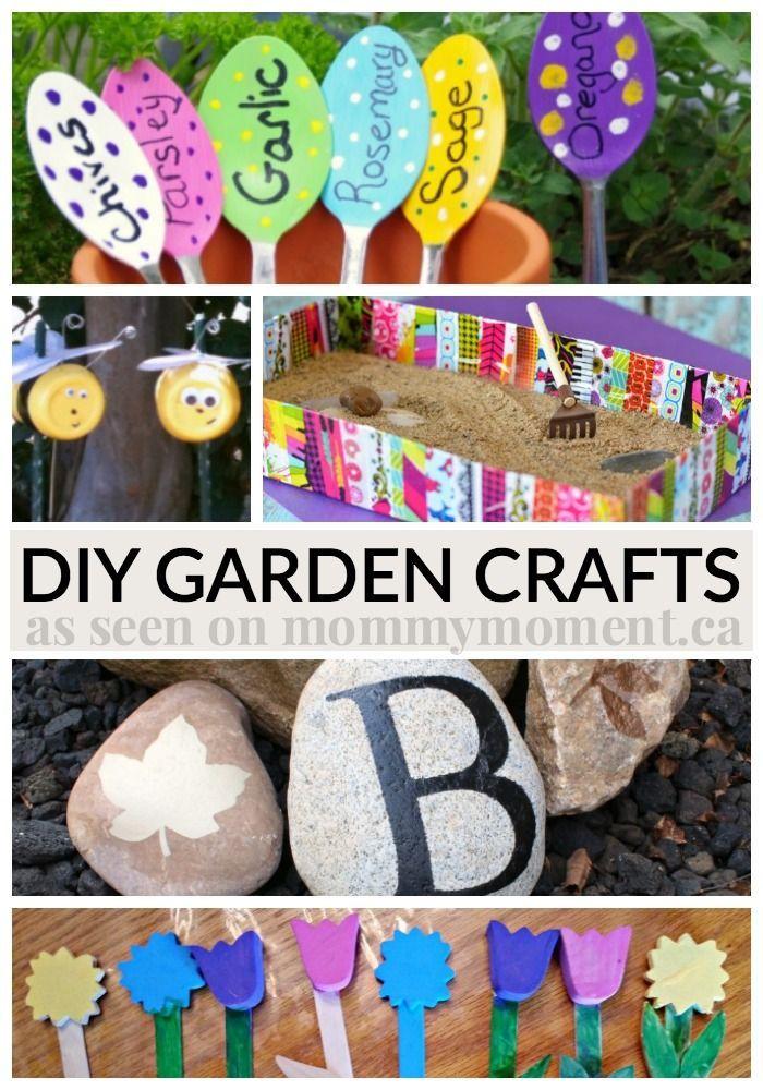 Diy Garden Crafts Craft Ideas Pinterest Garden Crafts Crafts