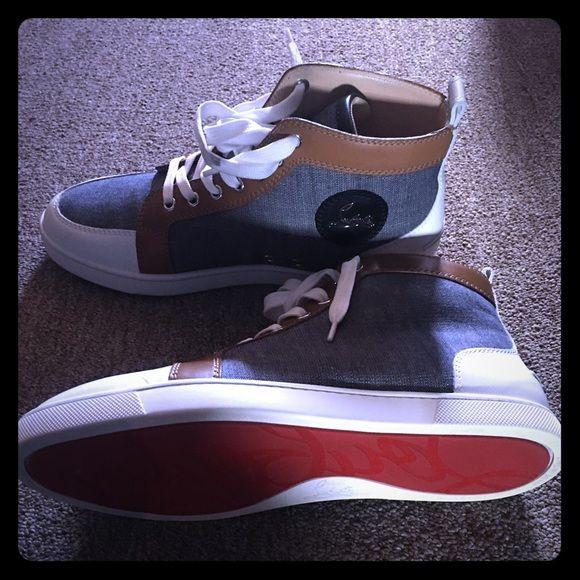4a5a5ff4fd8 Christian Louboutin Mens sneaker Authentic Christian Louboutin Mens ...