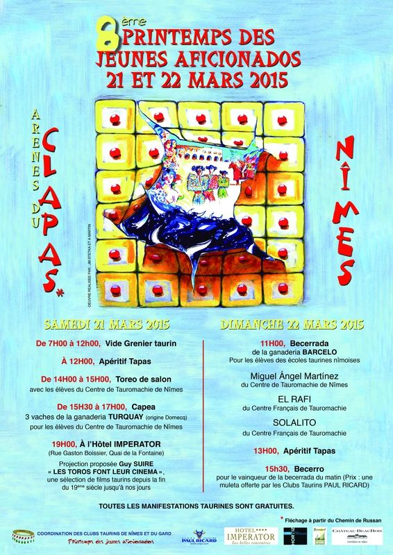 PRINTEMPS DES JEUNES AFICIONADOS 2015