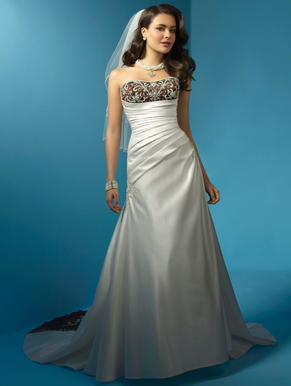 Alfred Angelo Style 2132, would love the top part in red with a red ...