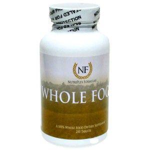 Nutriplex wholefood multivitamin formula  One of the few