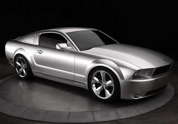 Iacocca Silver 45th Anniversary Edition Ford Mustang