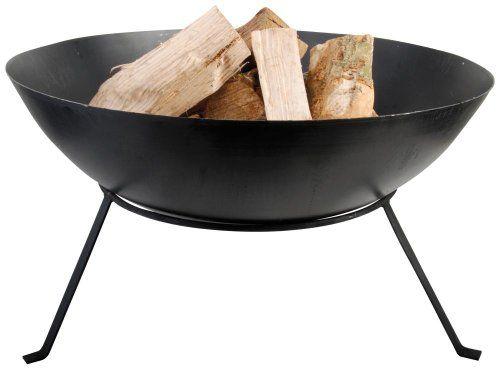 Esschert Design Steel Fire Bowl Wood Fire Pit Wood Burning Fire Pit Fire Bowls
