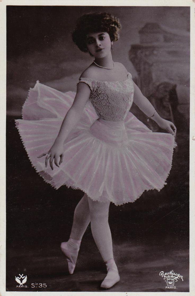 Edwardian ballerina | Vintage ballerina, Vintage dance