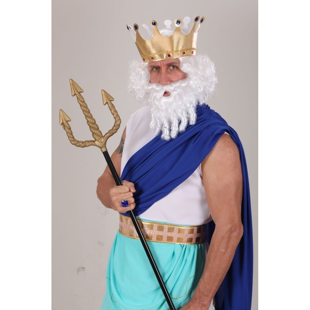 how to make a king neptune costume buscar con google - Poseidon Halloween Costume