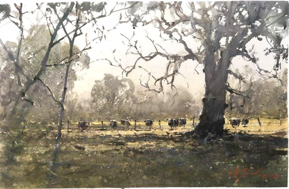 Joseph Zbukvic, Australian Landscape