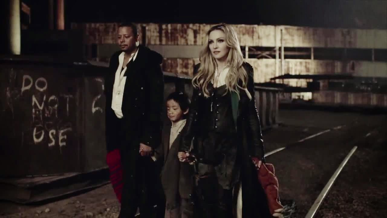 LUPIN4TH MAGAZINE: Madonna - Ghosttown video and making-off