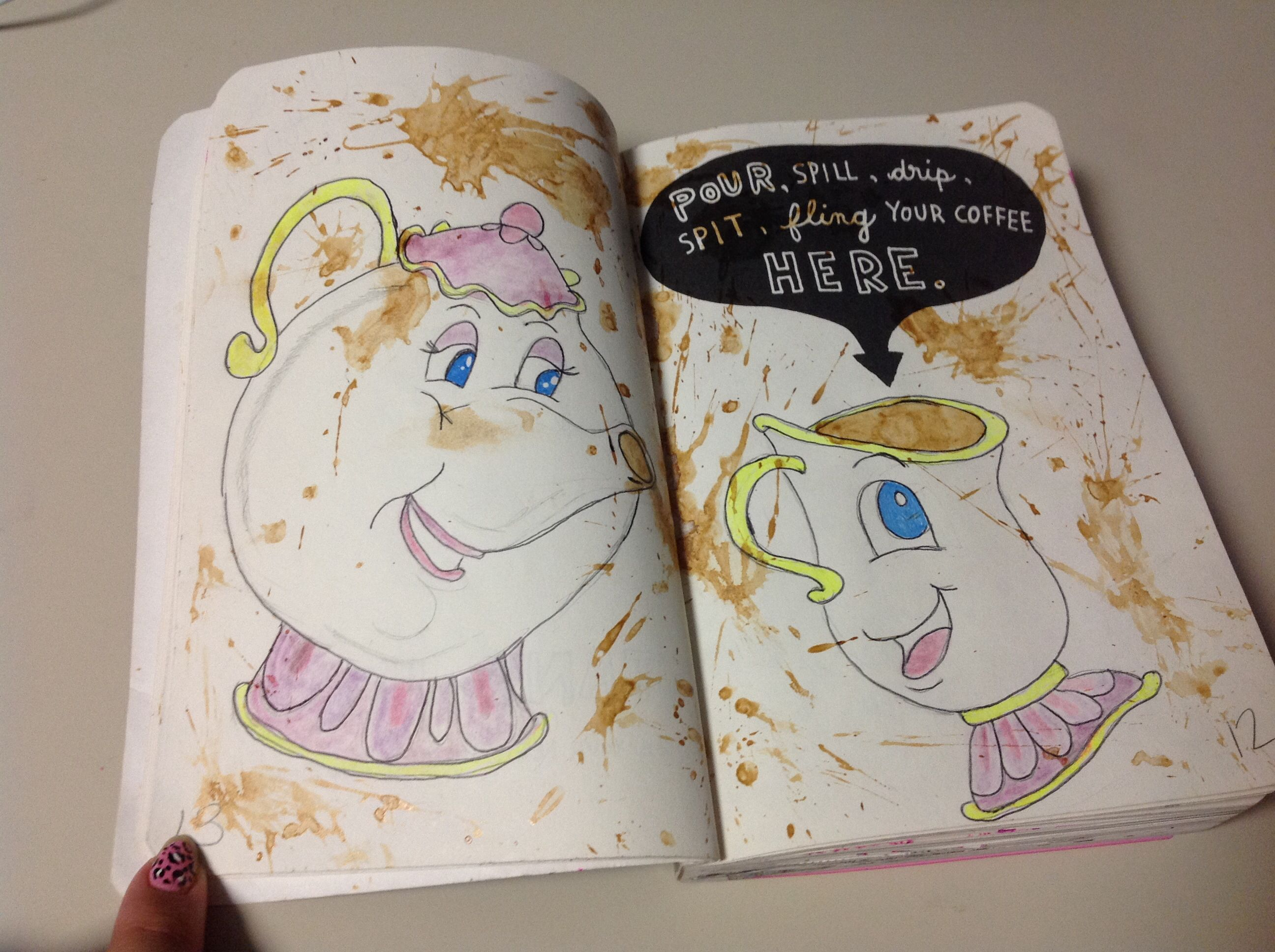 how to make a wreck this journal tumblr
