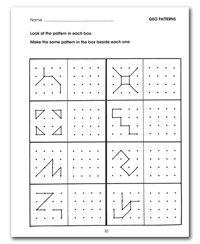 Free Printable Visual Motor Worksheets - Worksheets