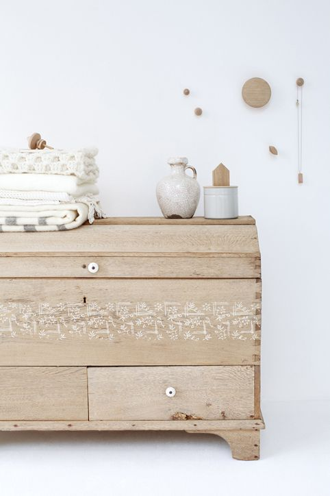 chest with drawers could also be a bureau but Im not sure