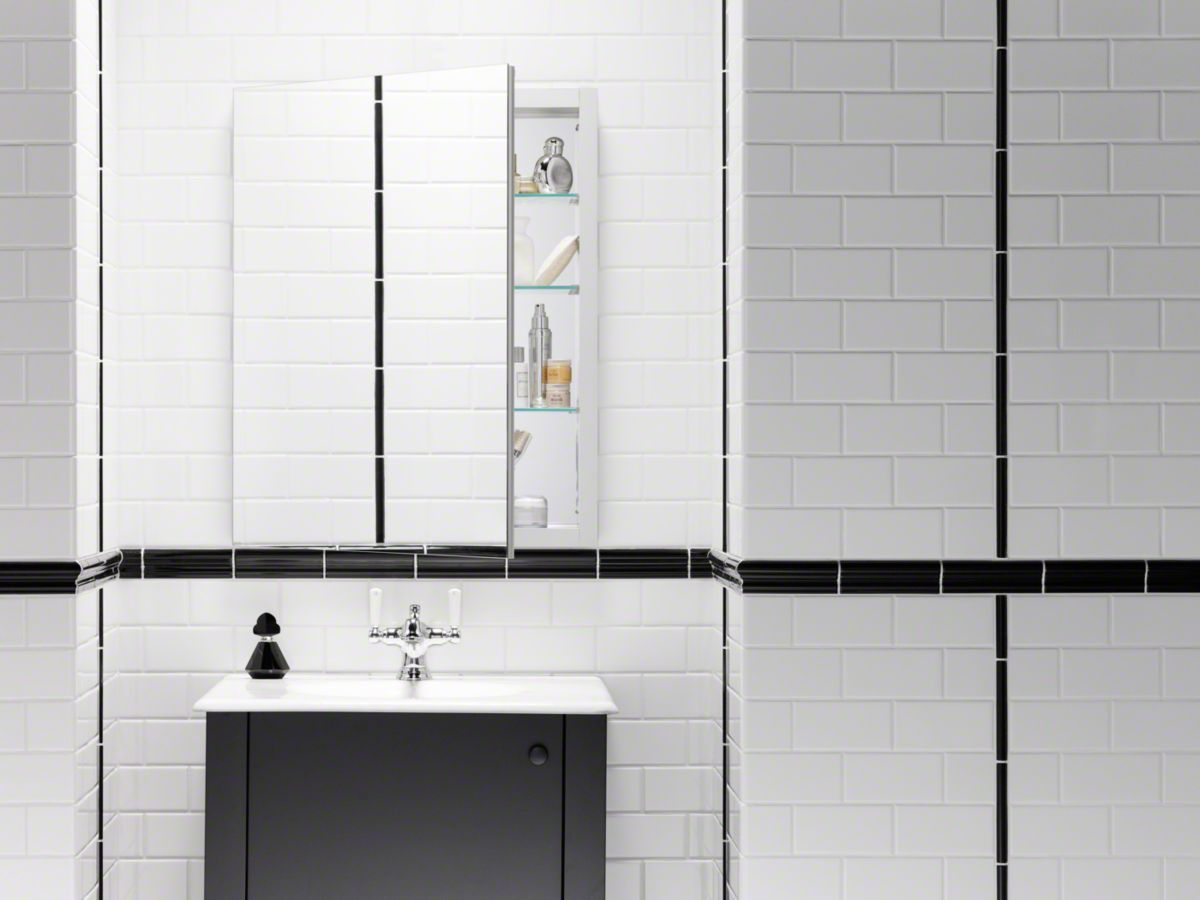 Kohler Verdera Medicine Cabinet | Small Bathroom Ideas | Pinterest ...