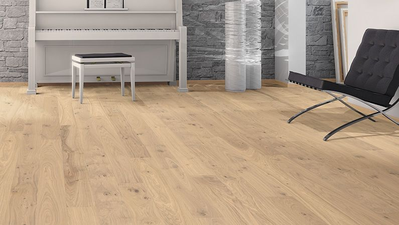 haro parquet 3000 hdf planche large l 39 ancienne 2vm ch ne blanc clair universal bross floor. Black Bedroom Furniture Sets. Home Design Ideas