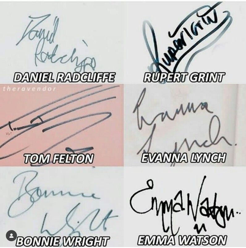 Your Board Had Just Been Signed By The Hp Cast Citazioni Harry Potter Harry Potter Meme Di Harry Potter