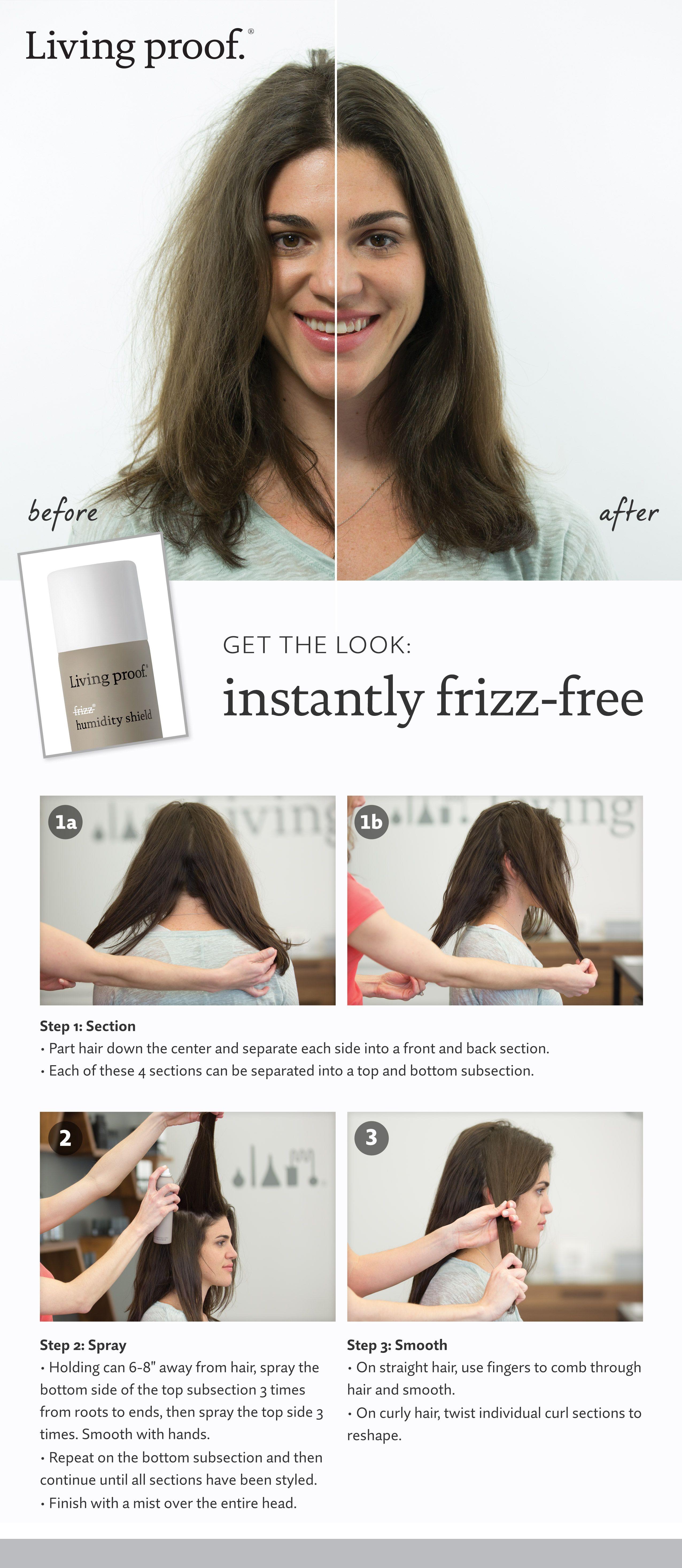 No Frizz Humidity Shield Living Proof Sephora In 2020 Frizz Free Hair Frizz Anti Frizz Shampoo
