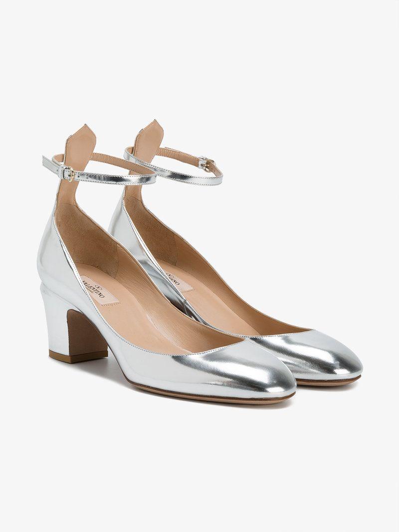 412557cef204 VALENTINO METALLIC TANGO PUMPS.  valentino  shoes  pumps
