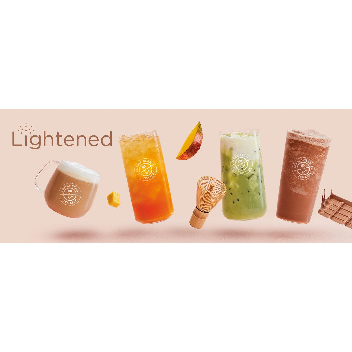 The Coffee Bean Tea Leaf Unveils Winter Menu New Lightened In 2020 Tea Leaves Coffee Beans Blended Drinks