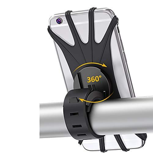 BOVON Bike Phone Mount 360Rotation Silicone Bicycle Phone Holder Universal Motorcycle
