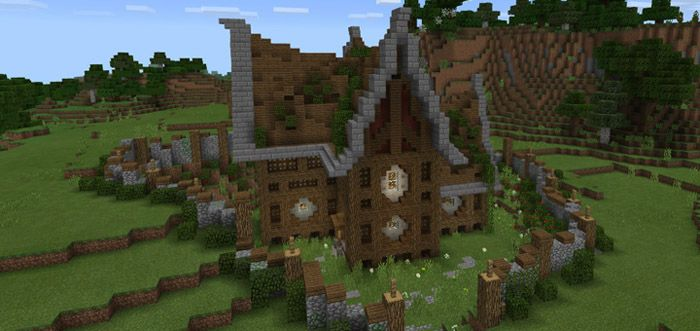 A Good Survival House [Creation] | Minecraft PE Maps | Shelters ...