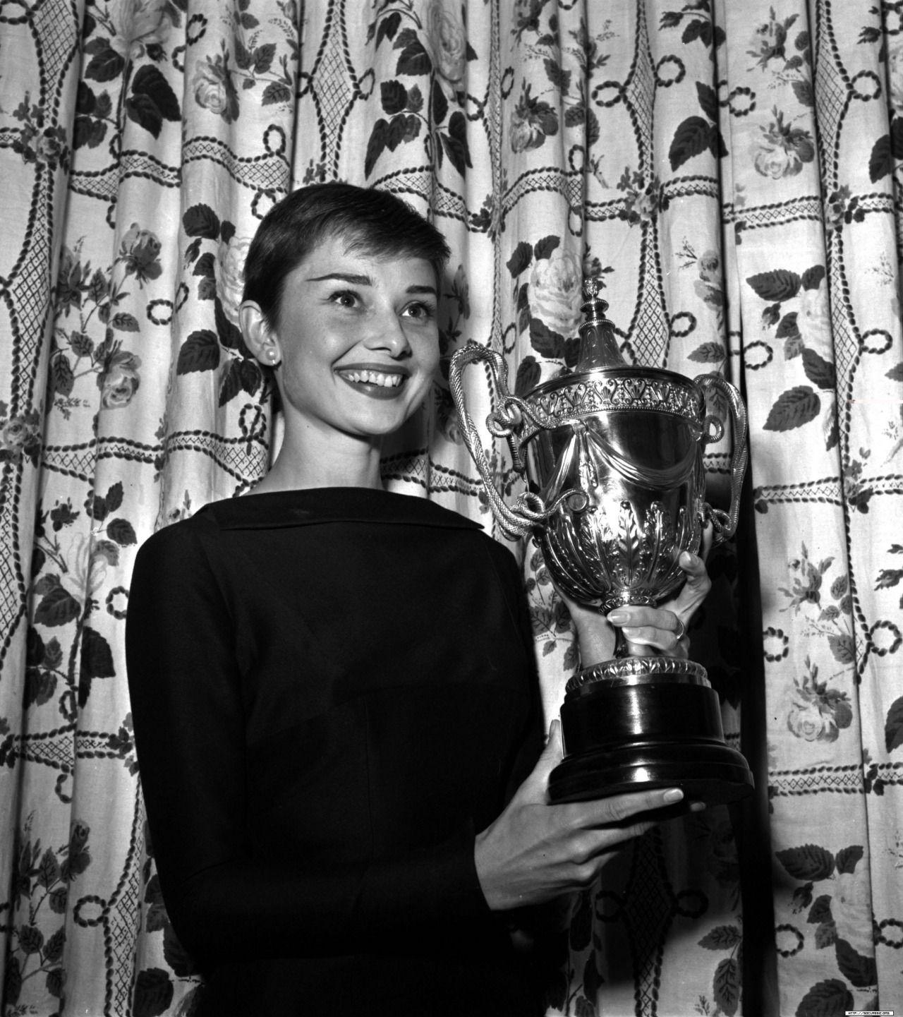 Audrey Hepburn, one of her Awards