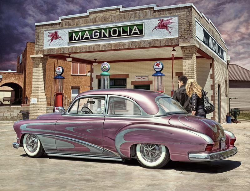 Cool classic car artwork