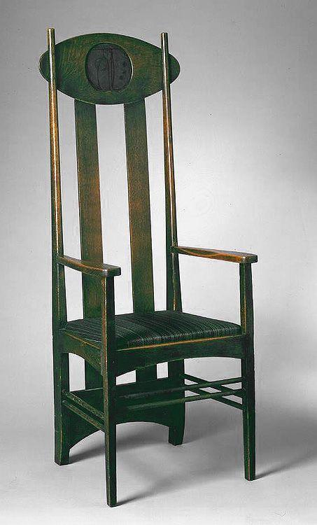 The Glasgow School Charles Rennie Mackintosh Art Nouveau Furniture Charles Rennie Mackintosh Art Chair