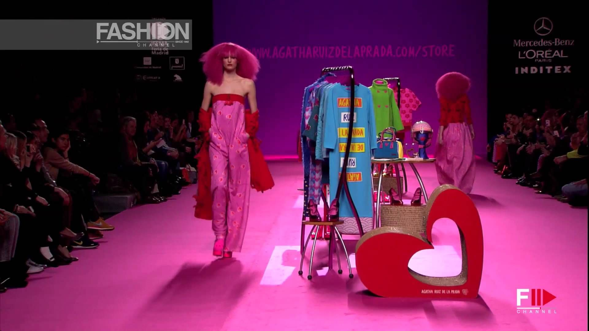 "cool ""AGATHA RUIZ DE LA PRADA"" MB Madrid Fashion Week Full"