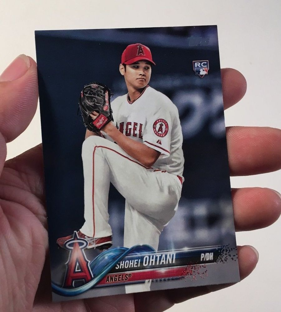 2018 Topps Series 2 Rookie Pitcher Shohei Ohtani Angels ...