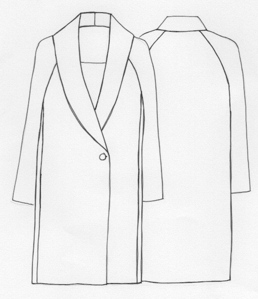 Top 10 Coat Sewing Patterns to Make this Winter | نجلاء | Pinterest ...