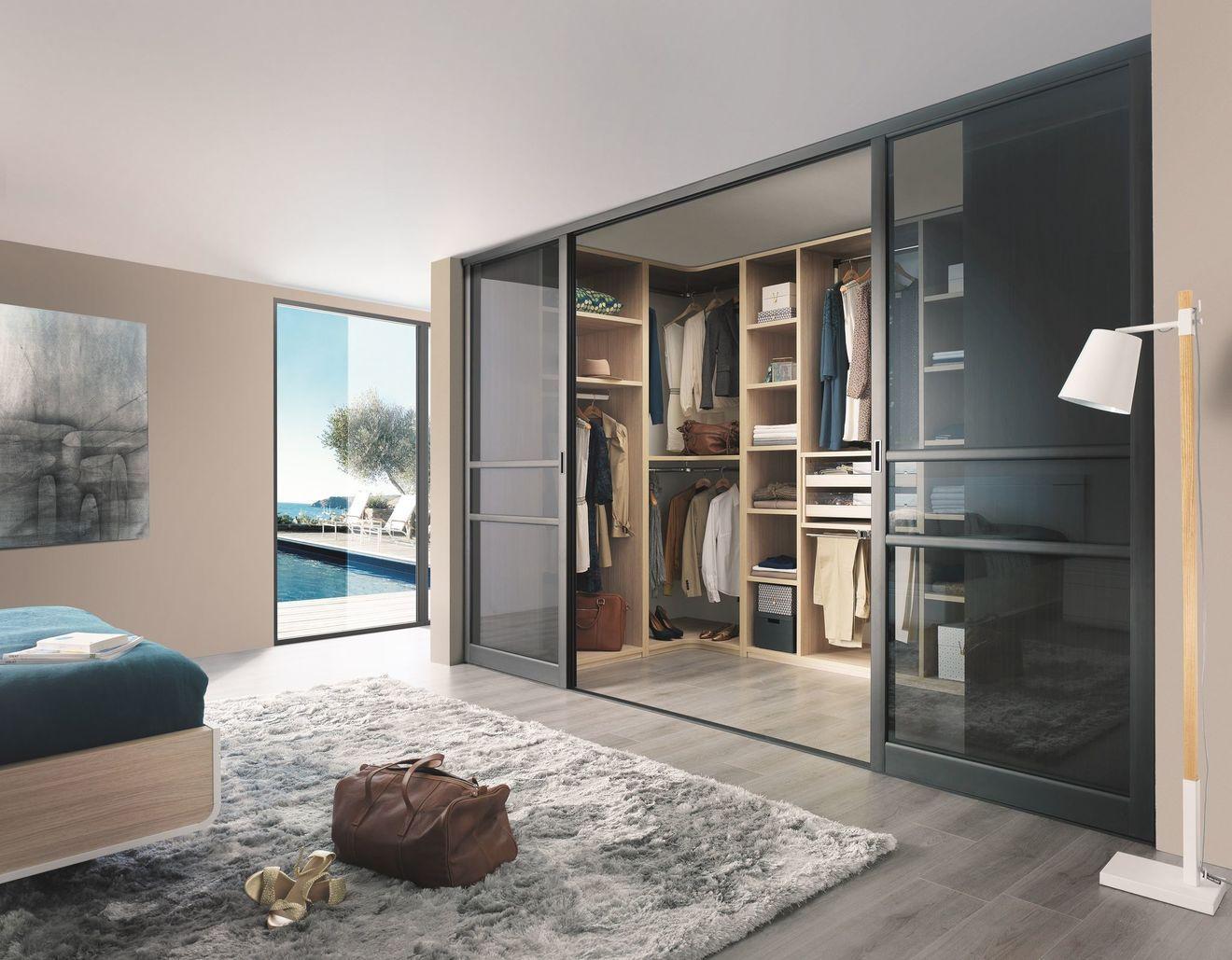 Placards Et Rangements Sur Mesure Coulissants Dressing Chambre Parentale Loft Rangement Meuble Celio