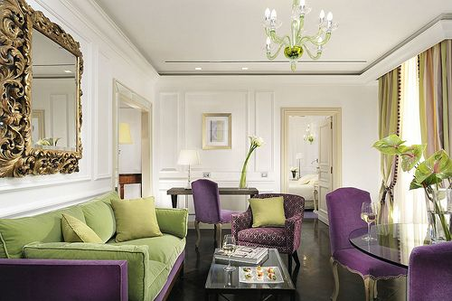 Purple green living room dream home pinterest - Purple and green living room decor ...