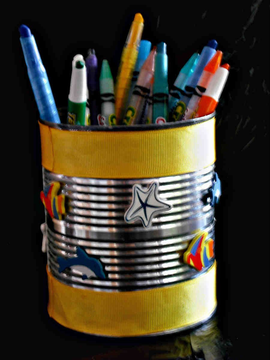 love the beach create your own be achy pencil holders using wooden
