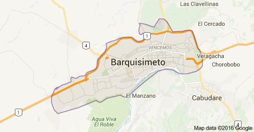 Mapa de Barquisimeto 3001 Lara Mi mapa del tesoro Pinterest
