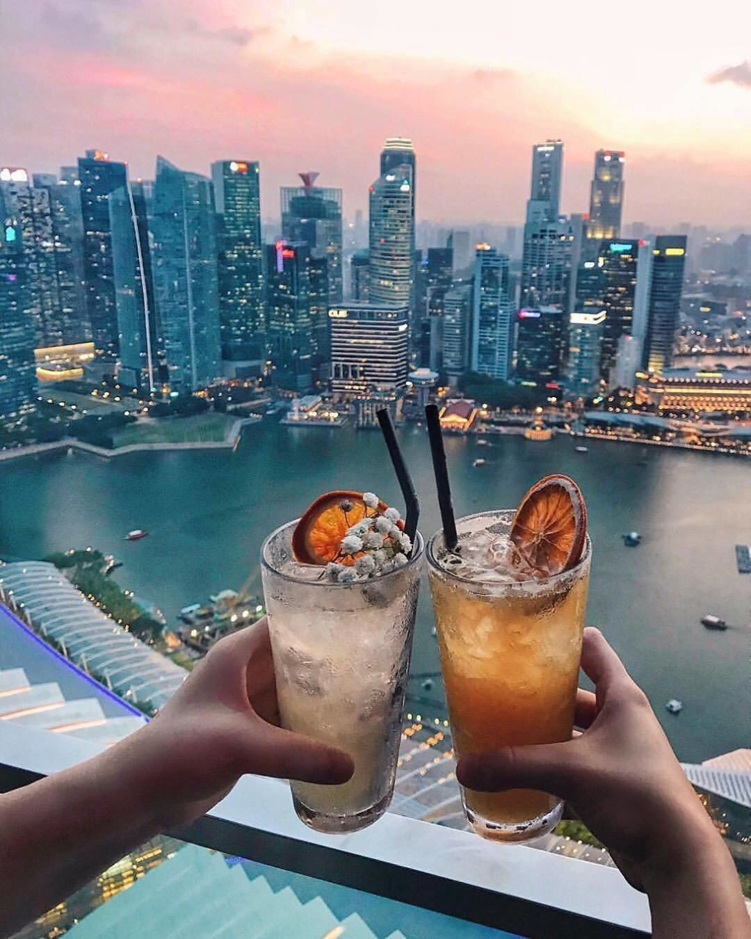 Only Luxury Hotels On Instagram Cheers To The Weekend Would You Stay Here Marina Bay Singapore Things To Do Singapore Hotels Travel Photography
