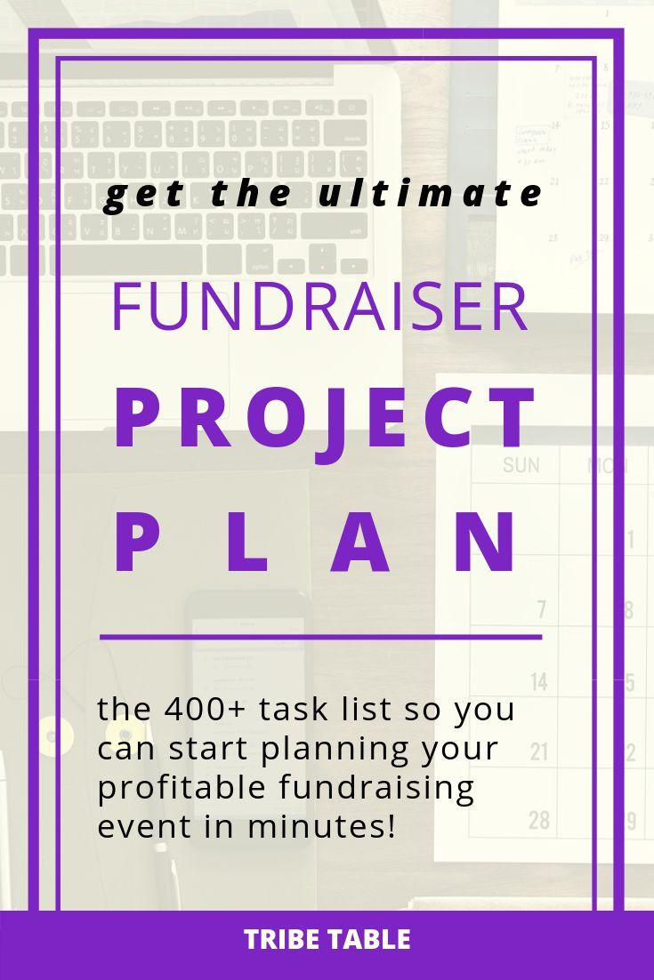 The Ultimate Fundraiser Project Plan Is The Amazing The 400