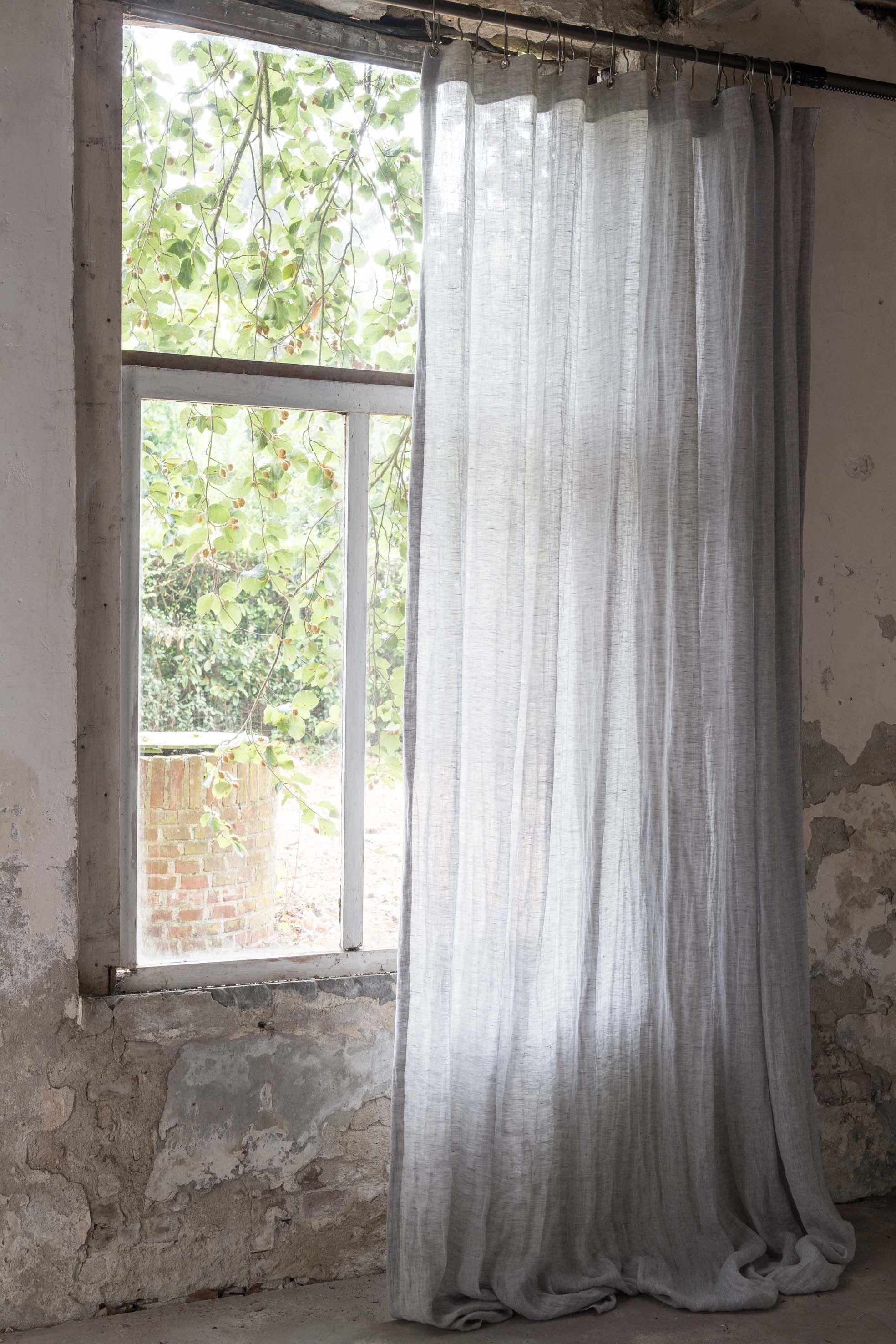 Wonderbaarlijk Linnen transparante gordijnen (met afbeeldingen) | Linnen UT-83