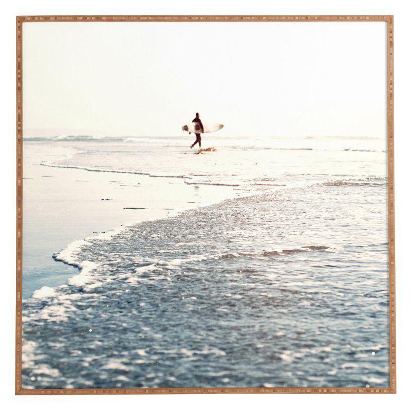 DENY Designs Bree Madden Surfer Dude Framed Wall Art - 59707-FRWA ...