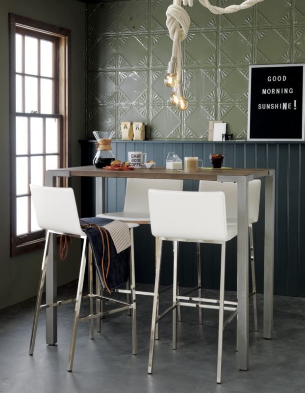 Stilt 42 Quot High Dining Table Table And Chairs High Top