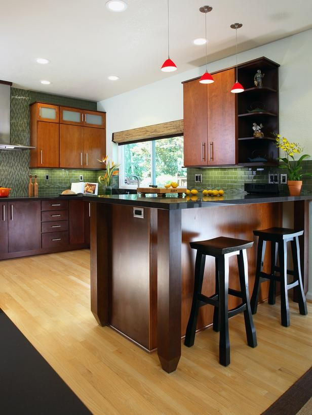 Eat-In Kitchen in Find Your Favorite Kitchen Style from HGTV