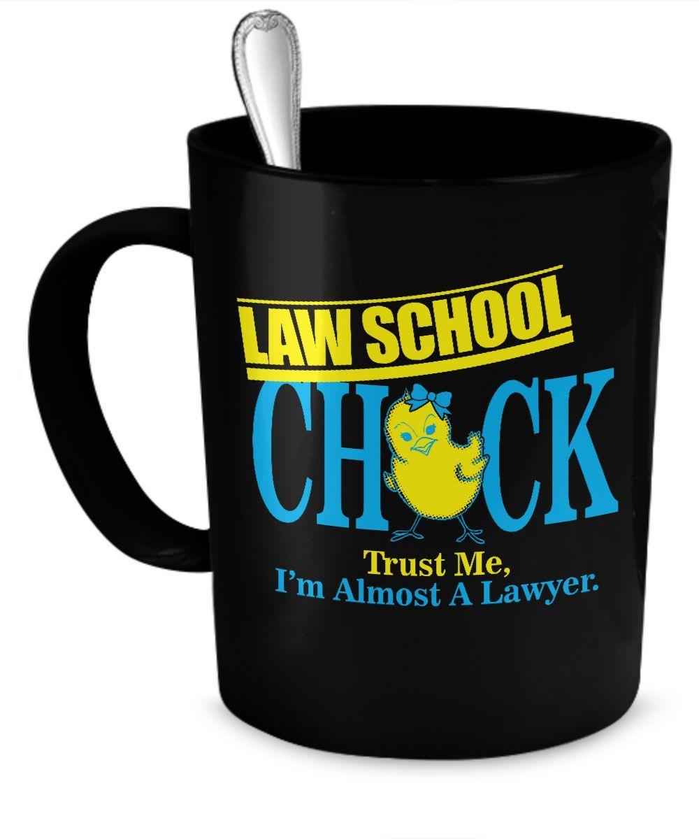 Law School Chick Mug  #gift#LawSchool #LawStudent $19.95