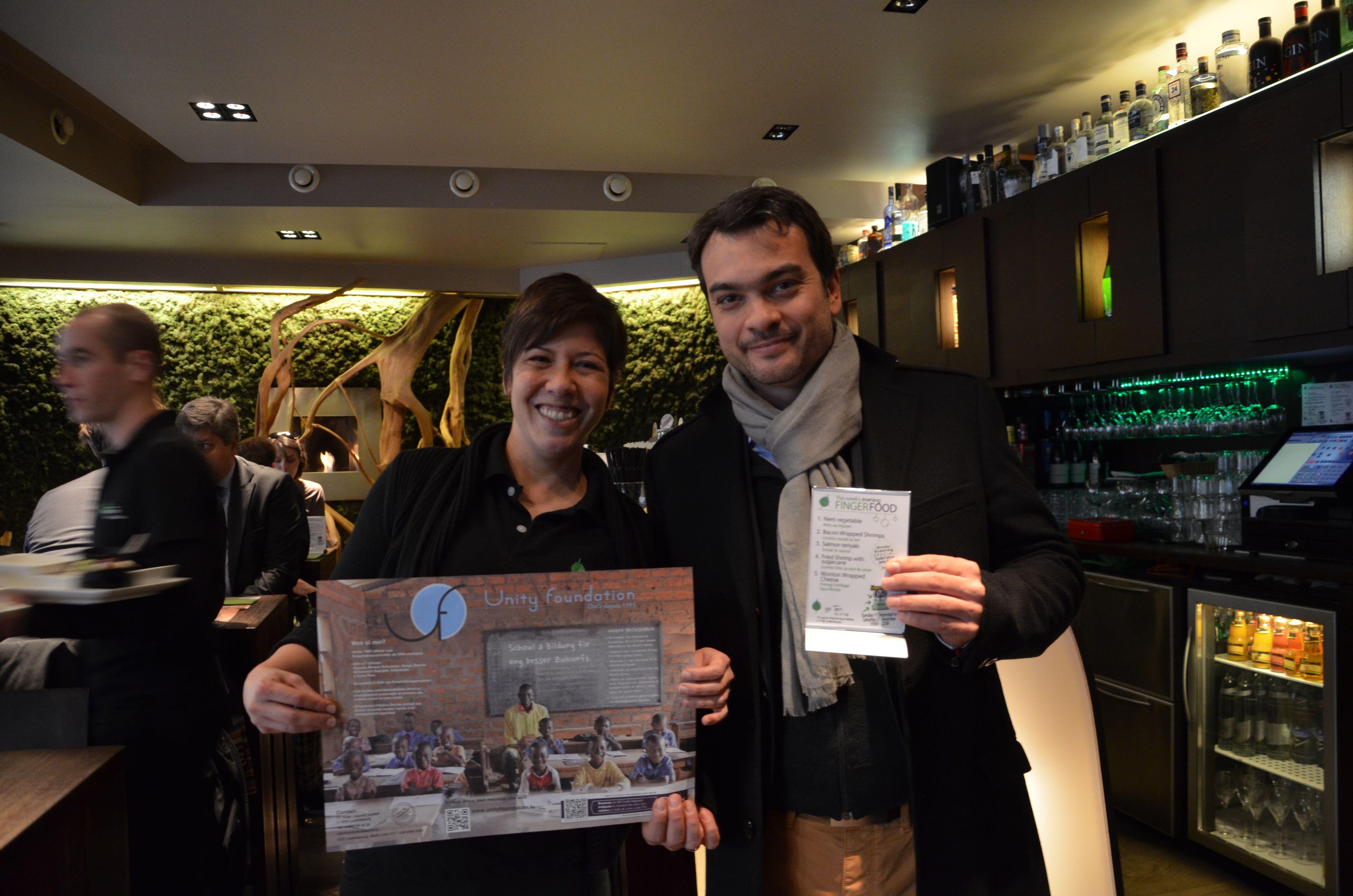 Nous remercions chaleureusement le Restaurant GO TEN d'avoir accepté de participer à notre Campagne.